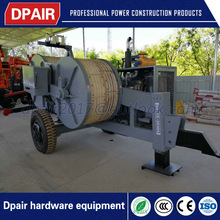 Conductor stringing equipment for overhead electric transmission lines