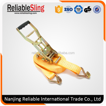 Heavy Duty Rachet Tie Down for Car Carrier Cargo Binding