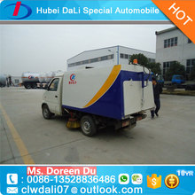 bottom price sweeper truck 4*2 road sweeping vehicle