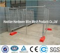 temporary metal fence/hot dipped galvanized welded wire mesh fence with pipe frame