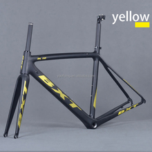 Factory price carbon road bike frame matte/glossy finish Carbon Racing Bicycle Frameset ultralight bicicleta carbon frame
