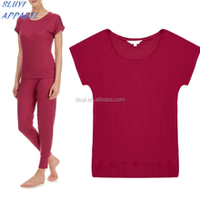 Custom High Quality T shirt for Women pajamas wear fashionable female top clothes t shirt costume women