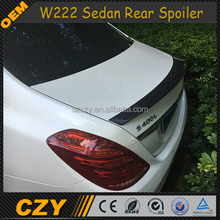Racing Auto S65 Carbon Fiber Rear Wing Spoiler for Mercedes W222