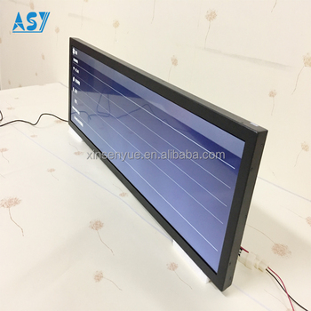 29Inch on-board TFT LCD displays for bus advertising &router display