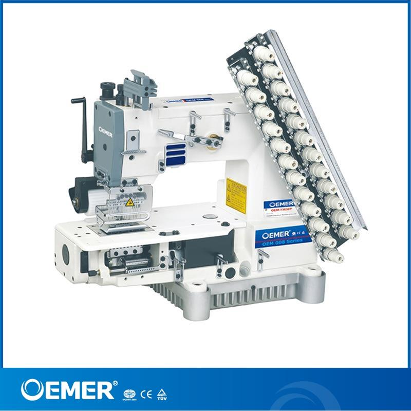 OEM-008-13032P automatic lubrication curtain pleating machine low noise