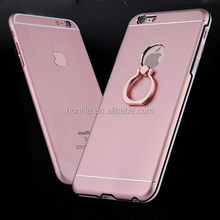 3 in 1 hard plastic cell phone cases with 360 rotating ring holder hard shell for iphone 6 cover case