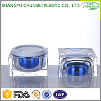 Wholesale high quality Acrylic cosmetic cream jar for skin care