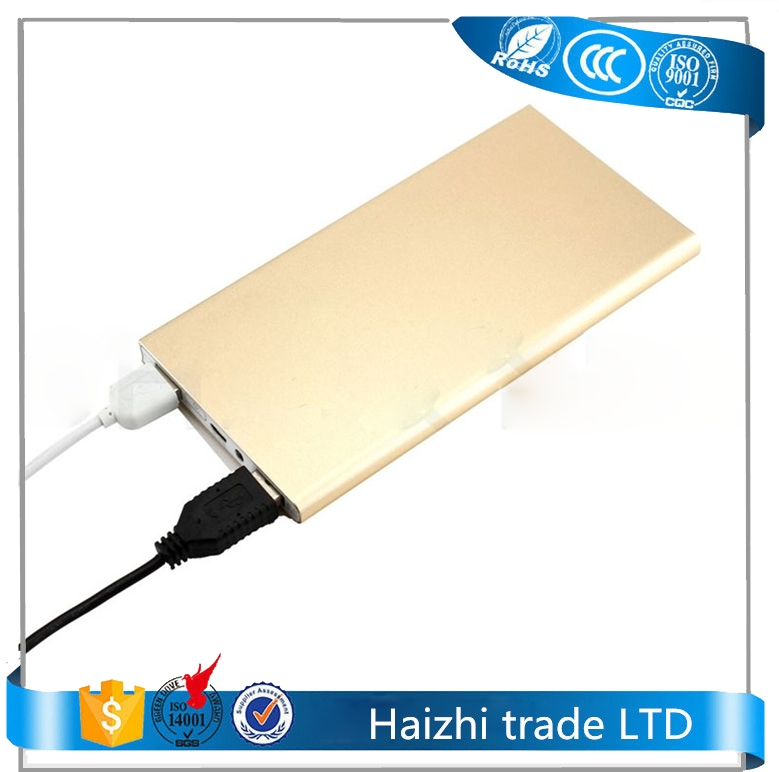 Power pack 8000mah lithium polymer power bank external battery chargers for cell phones