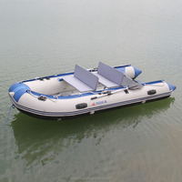 new design aluminum floor boats with newly designed bench seat