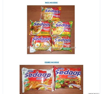 Indonesia Mie Sedaap Sachet Packaging Instant Noodles