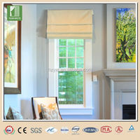 Comfortable roman blind farbic blind track