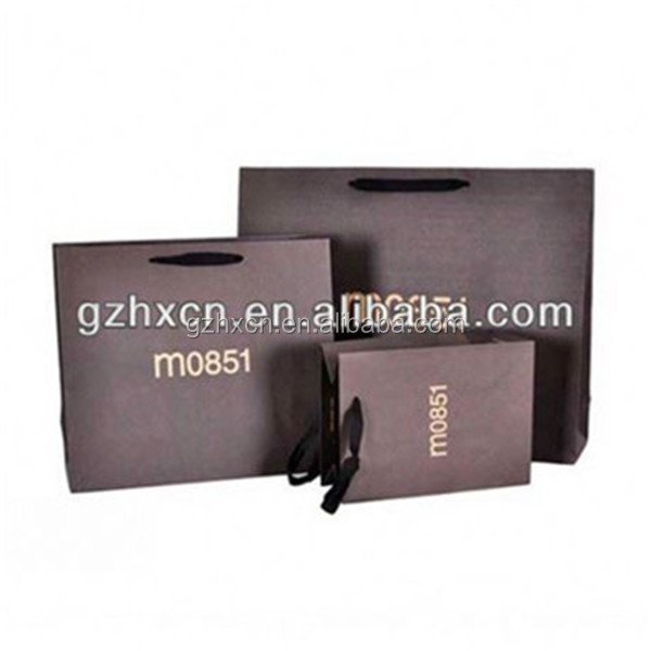 Matt lamination coated paper material shopping bag for wholesale in China alibaba