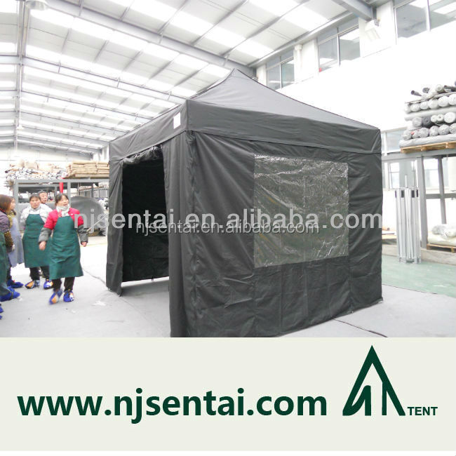 2015 new 3x3M canopy tent with plastic window and door