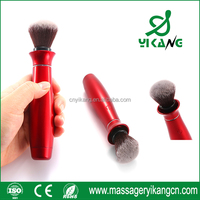 2016 hot sale high quality fashion shape red electrical makeup brush