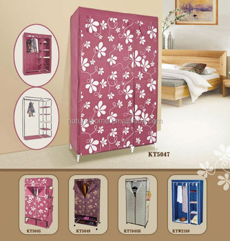 China Guangdong bedroom furniture fabric wardrobe