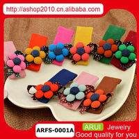 wholesale jewelry many color flower tiara for girls