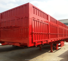 Factory direct sale used box trailer
