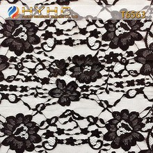 Fashion Eyelet Nylon Lace Trim Wholesale Black Eyelash Lace For Dress T6563