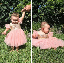 Summer Dresses For Baby Girls 1 year Old Party Dress Children Frocks Designs