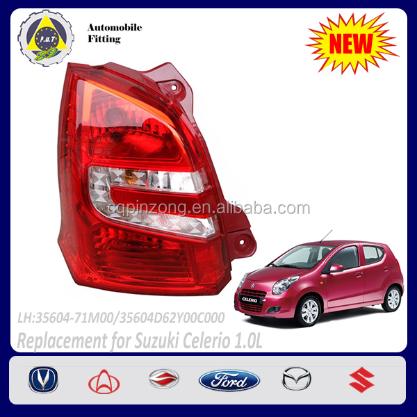 Car Body Parts Left Side Tail Light For Suzuki Celerio 2013 1.0L Rear Lamp OEM 35604-71M00
