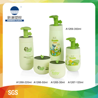 220ML HDPE plastic shampoo bottle for baby