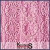composition of satin cotton lace fabric