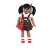 18 inches black skin dolls lovely baby dolls latin african american silicone baby dolls for kids