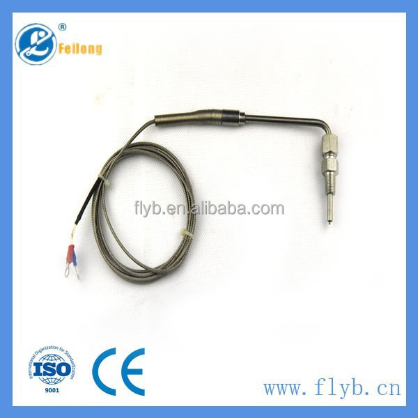 <strong>k</strong>/pt100 type thermo temperature sensor exhaust gas probe EGT guage egt