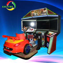 indoor entertainment coin operated racing game initial stage 3 arcade machine car