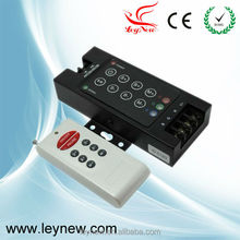 LED RF 8-key Audio controller with Professional quality 12-24v