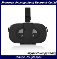 VR Glasses Fiit vr 3D Glasses Virtual Reality OEM change color custom brand /logo fit up to 6 inch big lens HD movies