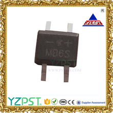 0.5 amp 200V MB2S bridge rectifier