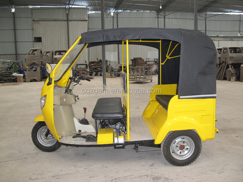 3 seats thee wheel motorcycle taxi for sale