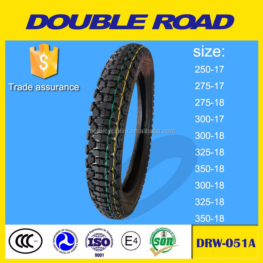 China motorcycle tire factory 3.25-18 size off road for racing