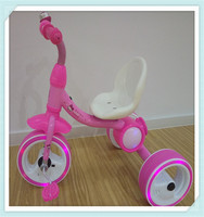 2016new new new tricycle for kids with subwoofer and colorful light on the three wheels for1-6years oldwithbest price