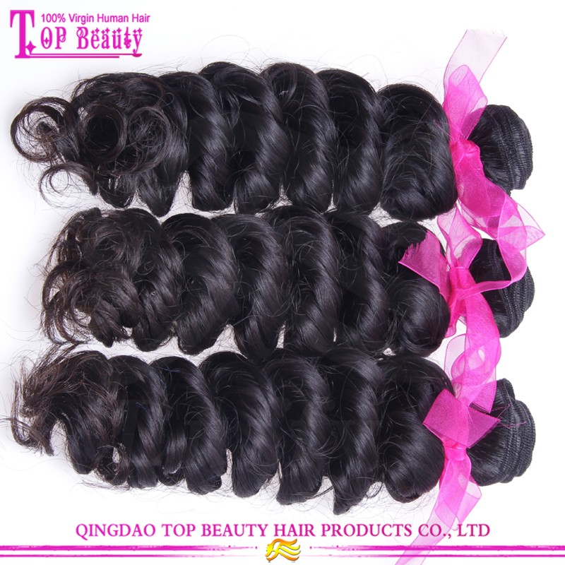 Cheap brazilian virgin hair weaving top quality 10a grade brazilian loose deep wave hair weave