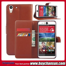 mobile phone case for HTC desire eye leather case wallet