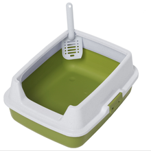 factory hot sales pet litter tray with cat nip