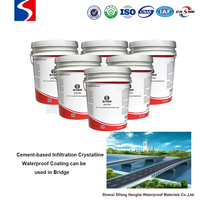 Construction material Cement-based infiltration crystalline waterproof coating with the best quality