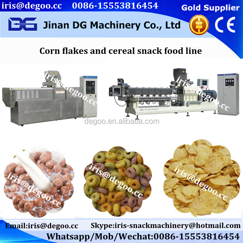 Frosted Cereal Corn Flakes Machine