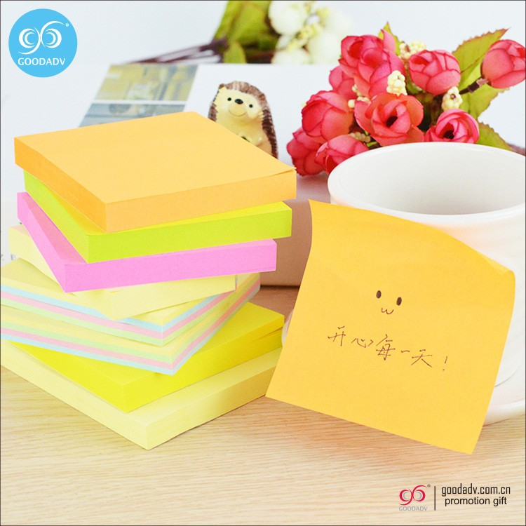 Discount price custom cute design shaped memo sticky notes