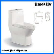 JKL-232 china Ceramic sanitary ware one piece siphon vortex toilet
