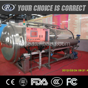 Food Sterilizing Frying Machinery For sale