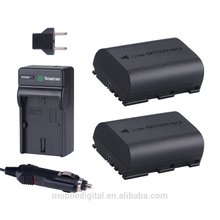 Smatree Power Battery (2-Pack) and Charger for Canon LP-E6, LP-E6N and Canon EOS 5D Mark