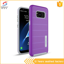 Promotions purple sun cross stripes mobile phone cover for samsung galaxy s8