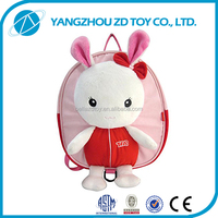 high quality plush toy manufacture animals shaped baby carrier backpack