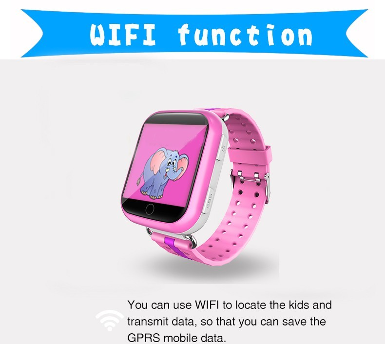 2016 Cheapest q100s 6 ways tracking Q750 kids GPS w4 q18 smart watch with 1.54 inch big touch screen, MTK2503 chipset