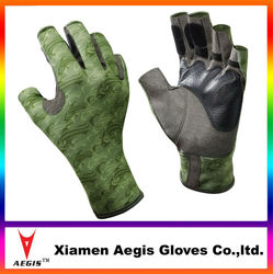 New 2014 Half Finger Leather Sailing Gloves,Waterproof &Sailing Fishing Glove