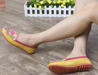 New style women ventilate korean middle and long aged casual flat shoes
