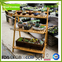 3 Shelves Collapsible flower display stand